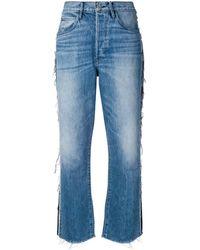3x1 サイドテープ ストレートジーンズ - ブルー