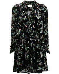 Zadig & Voltaire Floral Print Dress - Black