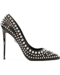 Philipp Plein Rock Star Decollete Court Shoes - Black