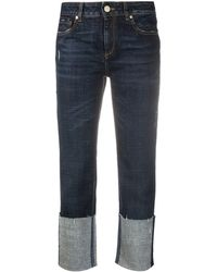 Dorothee Schumacher Mid-rise Cropped Jeans - Blue