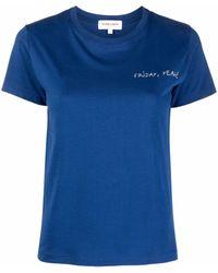 Maison Labiche Friday Tシャツ - ブルー