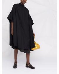Comme des Garçons レイヤード シャツドレス - ブラック