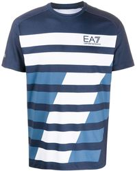EA7 - プリント Tシャツ - Lyst