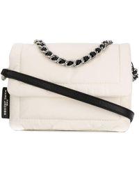 Marc Jacobs Mini sac à main Pillow - Blanc