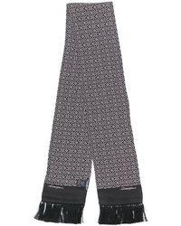 Dolce & Gabbana フリンジ スカーフ - ブラック