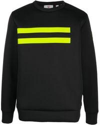 Rossignol Diago ストライプ スウェットシャツ - ブラック