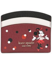 Kate Spade - Minnie Mouse カードケース - Lyst