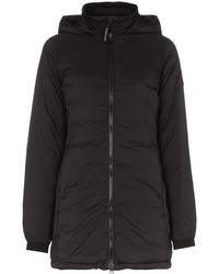 Canada Goose Куртка Camp С Капюшоном - Черный