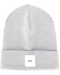 OAMC ロゴパッチ ビーニー - グレー