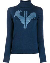 Rossignol タートルネックセーター - ブルー