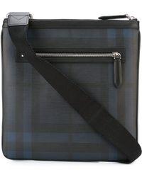 Burberry - Sac porté épaule à carreaux - Lyst