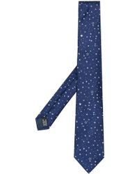 Lanvin - Star Embroidered Tie - Lyst