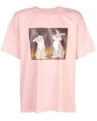 Rochambeau Thumper グラフィック Tシャツ - ピンク