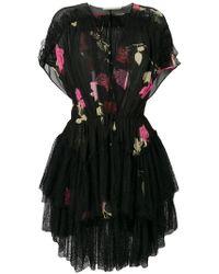 Clearance Hot Sale Latest Cheap Price embellished sheer lace midi dress - Black Amen 7gm7cf