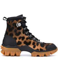 Moncler Ботинки Helis - Черный