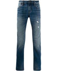 John Varvatos Distressed Jeans - Blue