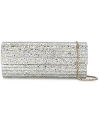 Jimmy Choo Sweetie Clutch Met Glitter - Metallic