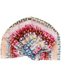 Missoni Pañuelo para la cabeza con estampado abstracto - Rosa