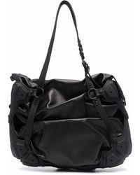 Innerraum Bolso shopper con diseño horizontal - Negro