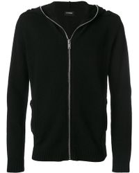 Les Hommes - Knit Zipped Hoodie - Lyst