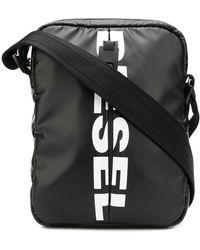 DIESEL F-bold ショルダーバッグ - ブラック