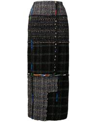 3.1 Phillip Lim - Long Tweed Skirt - Lyst