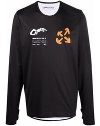 Off-White c/o Virgil Abloh - Футболка Active С Логотипом - Lyst