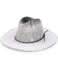 Maison Michel Соломенная Шляпа - Белый