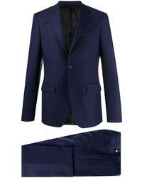 Givenchy スリムフィット スーツ - ブルー
