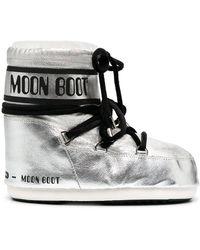 Moon Boot メタリック スノーブーツ