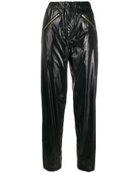 Preen By Thornton Bregazzi Bejamin High-waist Trousers - Black