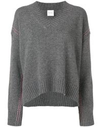 Paul Smith Black Label - Pull à coutures contrastantes - Lyst