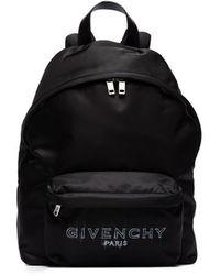 Givenchy ロゴ バックパック - ブラック