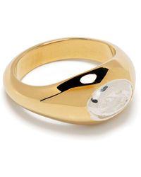VICTORIA STRIGINI Lion Pinky Ring - Metallic
