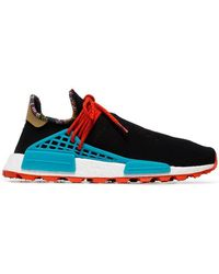adidas Originals - X Pharrell Williams Black Human Body Nmd Sneakers - Lyst