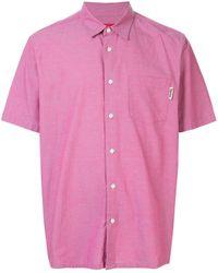 Supreme Chest Pocket Short-sleeved Shirt - Pink