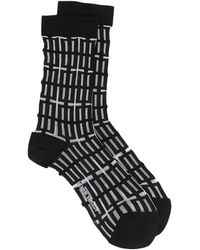 Henrik Vibskov Window-pattern Socks - Black