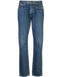 Khaite Straight Leg Jeans - Blue