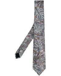 Cerruti 1881 - Krawatte mit Blumen-Print - Lyst