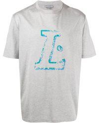 Lanvin ロゴ Tシャツ - マルチカラー