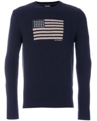 Woolrich | U.s.a Crew Neck Sweater | Lyst