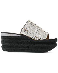 Chloé - Camille Sequinned Mules - Lyst