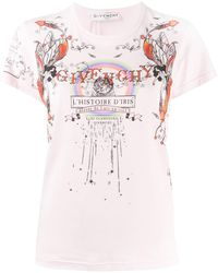 Givenchy Iris Tシャツ - マルチカラー