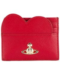 Vivienne Westwood - Heart Logo Cardholder - Lyst