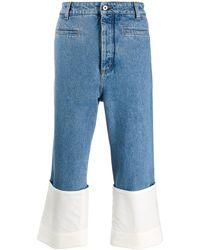 Loewe Jeans in Stone-Wash-Optik - Blau