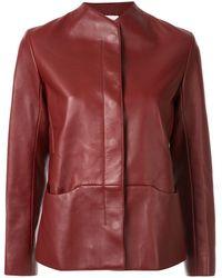 Hermès Veste à fermeture dissimulée pre-owned - Marron