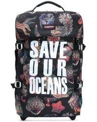 Vivienne Westwood Чемодан Save Our Oceans - Черный