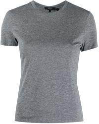 Theory ピマコットン Tシャツ - グレー