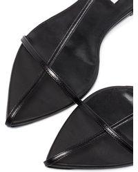 Jil Sander Caged Flat Sandals - Black