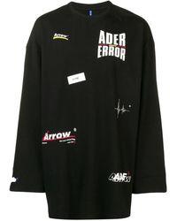 ADER error Logo printed jumper